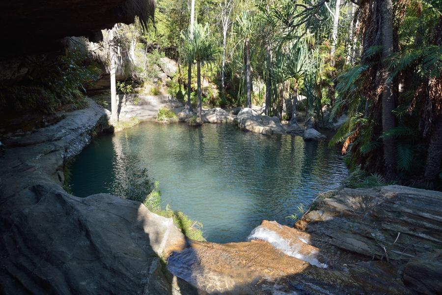 Escursione al parco nazionale di isalo in madagascar foto for Piscina naturale